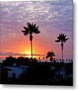 Hued Sunset  Metal Print