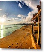 Huequito Beach Metal Print