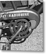 Huffy Radio Bike Metal Print
