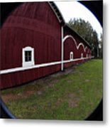 Huge Barn Metal Print
