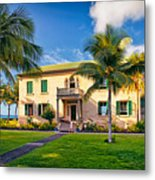 Hulihe'e Palace, Kona, Big Island Hawaii Metal Print