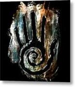 Humanity Native Symbol Metal Print