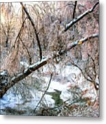 Humber River Winter 3 Metal Print