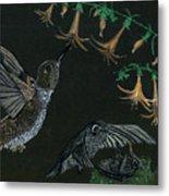Hummingbird Parents Metal Print