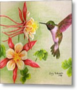 Hummingbird's Delight Metal Print