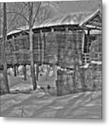 Humpback Bridge Metal Print