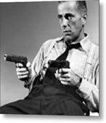 Humphery Bogart As Gangster Roy Earle High Sierra 1941 Metal Print
