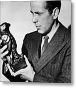 Humphrey Bogart Holding Falcon The Maltese Falcon 1941  Metal Print