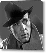 Humphrey Bogart Publicity Portrait Casablabca 1942-2016 Metal Print
