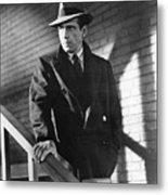 Humphrey Bogart Stairs The Maltese Facon 1941  Metal Print