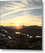 Humphreys Basin Sunset Metal Print