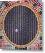 Hundertwasser Shuttle Window Metal Print