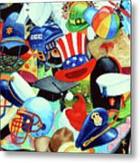 Hundreds Of Hats Metal Print by Hanne Lore Koehler