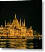 Hungarian Parliament  Metal Print