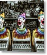 Hungry Clowns Metal Print