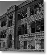 Hunter Kansas High School Metal Print