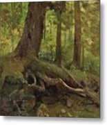 Hunter_in_the_white_mountains_near_glen_house Metal Print