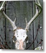 Hunters Wreath Metal Print