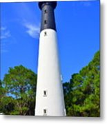 Hunting Island Lighthouse Beaufort Sc Metal Print
