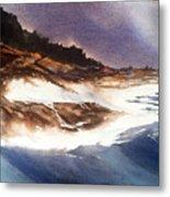 Hurricane '03' Halifax Metal Print by Don F  Bradford