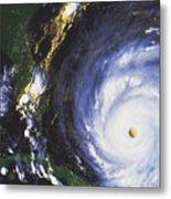 Hurricane Floyd Metal Print