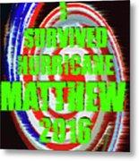 Hurricane Matthew Survivor Metal Print