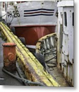 Husavik Boats Iceland 3741 Metal Print