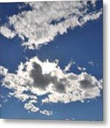 Huson River Clouds 1 Metal Print