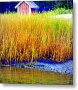 A Tiny Little Hut For Tiny Little People Metal Print