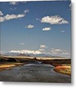 Hwy 142 Rio Grande River Metal Print