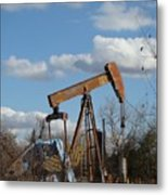 Hwy 71 Oil Well Metal Print