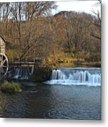 Hyde Mill Wisconsin Metal Print
