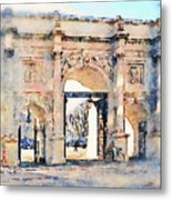 Hyde Park Entrance Metal Print