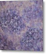 Hydrangea Blossom Abstract 2 Metal Print