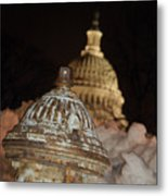 Hydrant Capitol Washington Dc Metal Print