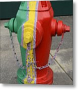 Hydrant With A Facelift Metal Print