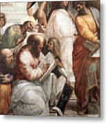Hypatia Of Alexandria, Mathematician Metal Print by Science Source
