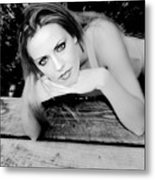 Hypnotic Eyes Metal Print