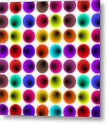 Hypnotized Optical Illusion Metal Print