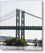 I-74 Bridge Metal Print