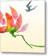 i Am Flying To You Metal Print