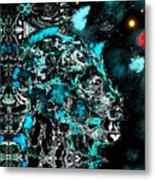I Am Not A Machine Metal Print
