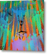 I Am Not Alone Metal Print