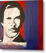 I Am Ron Burgundy Metal Print by April Harker