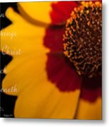 I Can Do All Things Through Christ Metal Print