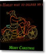 I Can Harley Wait Metal Print