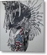 I Close My Eyes And Hear The Songs Of My Ancestors Metal Print