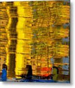 I Dreamed Of Six Woman Rowing Metal Print