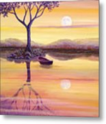 I Dreamt Of The Moon Metal Print