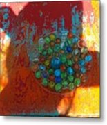 I Have All My Marbles Metal Print